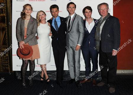 'Summer in February' London Gala Screening Curzon Mayfair Hattie Morahan Mia Austen Dominic Cooper Dan Stevens Max Deacon and Nicholas Farrell