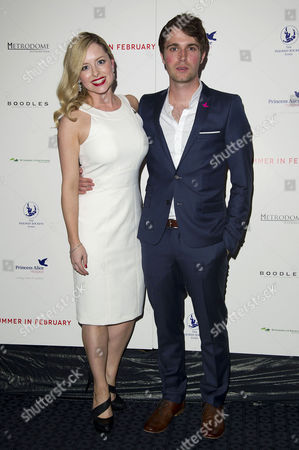 'Summer in February' London Gala Screening Curzon Mayfair Mia Austen and Max Deacon