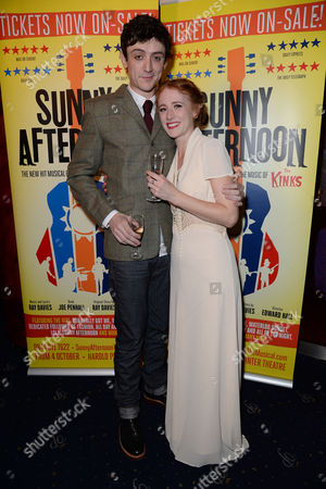 Editorial picture of 'Sunny Afternoon' Press Night - 28 Oct 2014