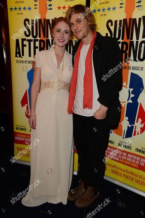 'Sunny Afternoon' Press Night at the Harold Pinter Theatre and Afterparty at the Cafe De Paris Lillie Flynn with Her Brother Johnny Flynn