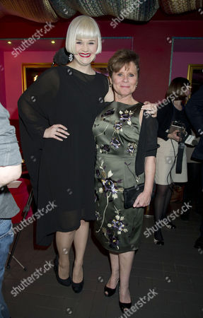 'Sweeney Todd' Press Night Afterparty at Floridita Wardour Street Lucy May Barker and Imelda Staunton