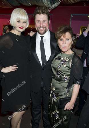 'Sweeney Todd' Press Night Afterparty at Floridita Wardour Street Lucy May Barker Michael Ball and Imelda Staunton