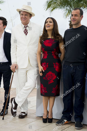 'Tale of Tales' Photocall at the Palais Des Festivals During the 68th Cannes Film Festival Bebe Cave Jonah Lees John C Reilly Salma Hayek Director Matteo Garrone Vincent Cassel and Toby Jones