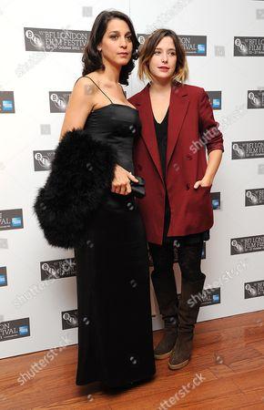 'Terraferma' Red Carpet During the 55th Bfi London Film Festival at the Vue Leicester Square Donatella Finocchiaro and Martina Codecasa