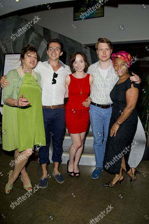 'The American Plan' Press Night at St James Theatre Victoria Diana Quick Luke Allen-gale Emily Taaffe Mark Edel-hunt and Dona Croll