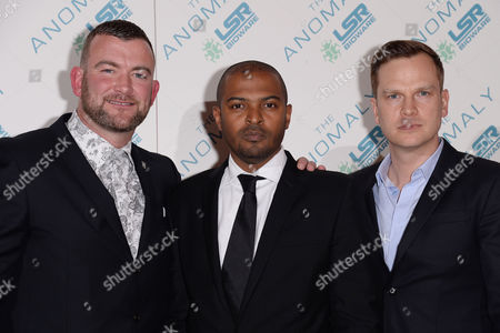 'The Anomaly' Special Screening at the Ham Yard Hotel Lee Charles Noel Clarke and Ali Cook