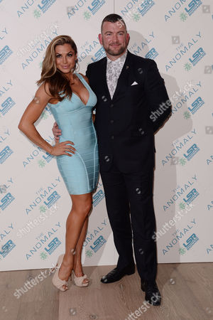Stock Image of 'The Anomaly' Special Screening at the Ham Yard Hotel Lee Charles and Louise Glover