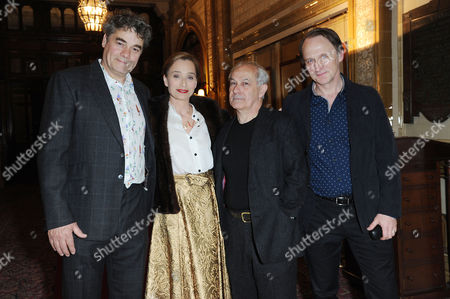 'The Audience' Press Night at the Apollo Theatre and Afterparty at Horseguards Hotel Gordon Kennedy Kristin Scott Thomas and Nicholas Woodeson and Michael Gould