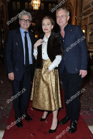 'The Audience' Press Night at the Apollo Theatre and Afterparty at Horseguards Hotel Matthew Byam-shaw Kristin Scott Thomas and Stephen Daldry
