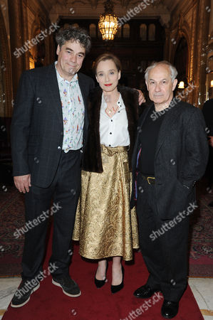 'The Audience' Press Night at the Apollo Theatre and Afterparty at Horseguards Hotel Gordon Kennedy Kristin Scott Thomas and Nicholas Woodeson