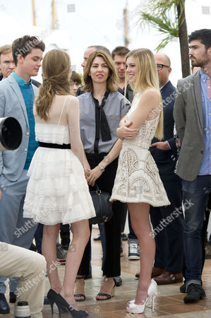 'The Bling Ring' Photocall at the Palais Des Festivals During the 66th Cannes Film Festival Taissa Fariga Sofia Coppola and Claire Julien