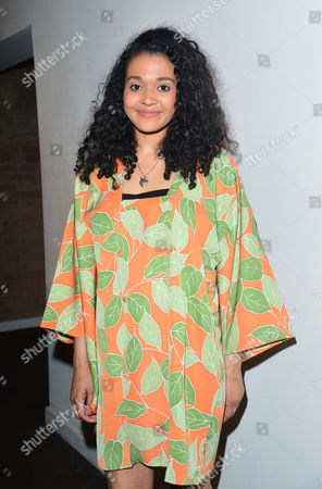 Stock Image of 'The Buskers Opera' Press Night at the Finsbury Park Theatre Natasha Cottriall