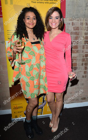 'The Buskers Opera' Press Night at the Finsbury Park Theatre Natasha Cottriall and Lauren Samuels