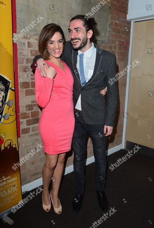 Stock Image of 'The Buskers Opera' Press Night at the Finsbury Park Theatre Lauren Samuels and George Maguire