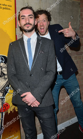 'The Buskers Opera' Press Night at the Finsbury Park Theatre George Maguire and Jez Bond