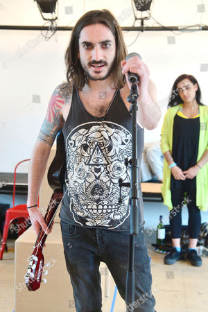 'The Buskers Opera' Rehearsals at the Park Theatre George Maguire