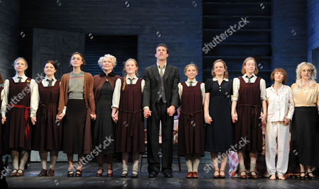 Stock Photo of 'The Childrens Hour' Press Night at the Comedy Theatre and Afterparty at the Penthouse Leicester Square Isabella Brazier-jones Amy Dawson Keira Knightley Ellen Burstyn Isabel Ellison Tobias Menzies Poppy Carter Elisabeth Moss Lisa Backwell Bryony Hannah Carol Kane