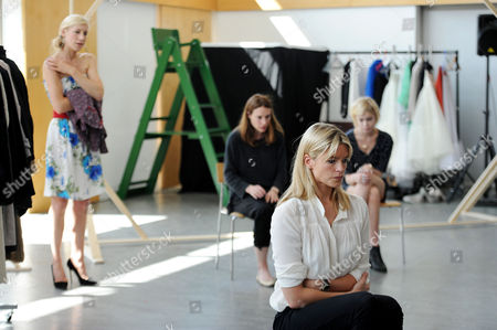 'The Colby Sisters of Pittsburgh Pennsylvania' Rehearsals at the Tricycle Theatre Isabella Calthorpe Claire Forlani Charlotte Parry Patricia Potter and Alice Saunders