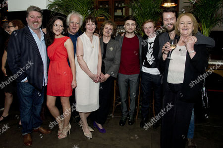 'The Cripple of Inishmaan' Press Night After Party at the National Portrait Gallery Cafe Pat Shortt Sarah Greene Gary Lilburn Ingrid Craigie Gillian Hanna Daniel Radcliffe Conor Macneill Padraic Delaney and June Watson