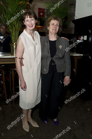 'The Cripple of Inishmaan' Press Night After Party at the National Portrait Gallery Cafe Ingrid Craigie and Gillian Hanna
