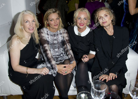 'The Deep Blue Sea' Closing Night Afterparty During the 55th Bfi London Film Festival at One Marlborough Amanda Nevill Lucy Walker Amanda Eliasch and Maryam D'abo