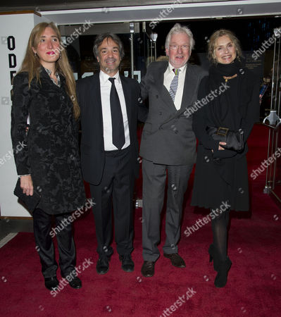 'The Deep Blue Sea' Closing Night Gala Red Carpet During the 55th Bfi London Film Festival at the Odeon Leicester Square Hugh Hudson with His Wife Maryam D'abo