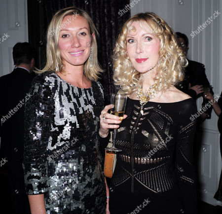 'The Diamond Connection' by Josie Goodbody - Book Launch at the Exhibitionist Hotel South Kensington London Josie Goodbody with Basia Briggs