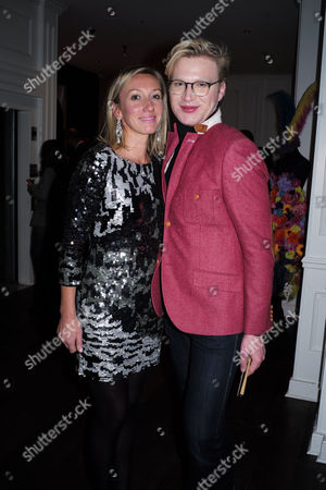 'The Diamond Connection' by Josie Goodbody - Book Launch at the Exhibitionist Hotel South Kensington London the Author Josie Goodbody with Henry Conway