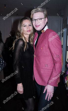'The Diamond Connection' by Josie Goodbody - Book Launch at the Exhibitionist Hotel South Kensington London Jessica Simons and Henry Conway