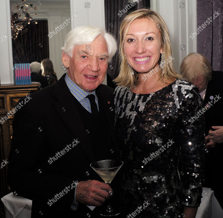 'The Diamond Connection' by Josie Goodbody - Book Launch at the Exhibitionist Hotel South Kensington London the Author Josie Goodbody with Bill Martin