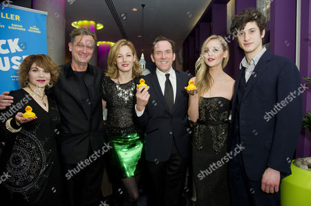 'The Duck House' Press Night Afterparty at the Trafalgar Hotel Cast - Debbie Chazen Simon Shepherd Nancy Carroll Ben Miller Diana Vickers and James Musgrave
