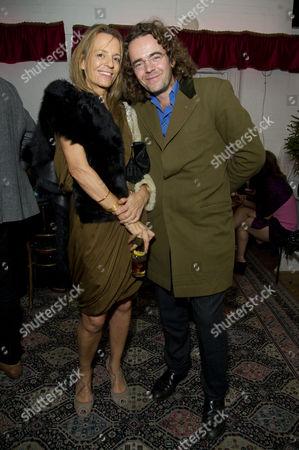'The El Train' Press Night at Hoxton Hall Jamie Byng with His Sister Georgia