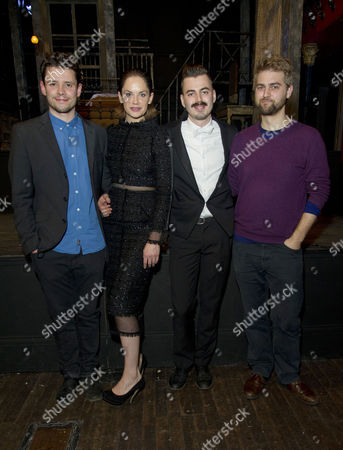 Editorial photo of 'The El Train' Press Night - 12 Dec 2013