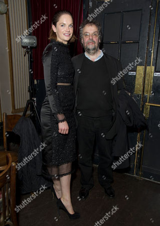 'The El Train' Press Night at Hoxton Hall Ruth Wilson and Stephen Poliakoff