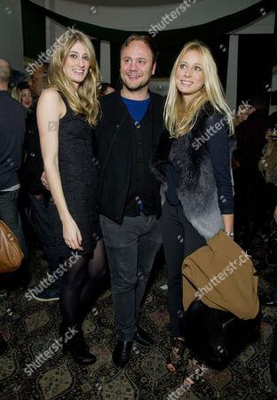 Stock Photo of 'The El Train' Press Night at Hoxton Hall Francesca Zampi and Nicholas Kirkwood