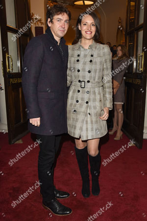 Stock Picture of 'The End of Longing' Arrivals at the Playhouse Theatre Phoebe Waller-bridge with Her Husband Conor Woodman