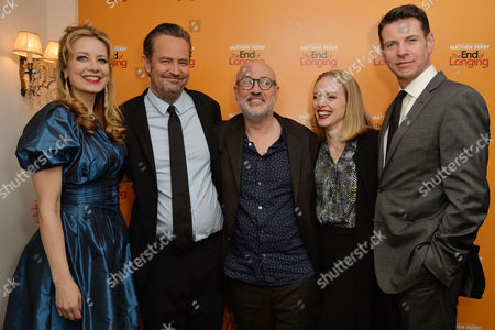 Editorial image of 'The End of Longing' Press Night - 11 Feb 2016