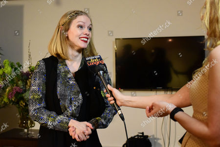 Stock Image of 'The End of Longing' Press Night Afterparty at the Playhouse Theatre Christina Cole