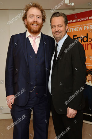 'The End of Longing' Press Night Afterparty at the Playhouse Theatre Adam Speers and Matthew Perry