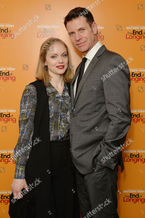'The End of Longing' Press Night Afterparty at the Playhouse Theatre Lloyd Owen and Christina Cole
