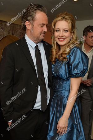 'The End of Longing' Press Night Afterparty at the Playhouse Theatre Matthew Perry and Jennifer Mudge