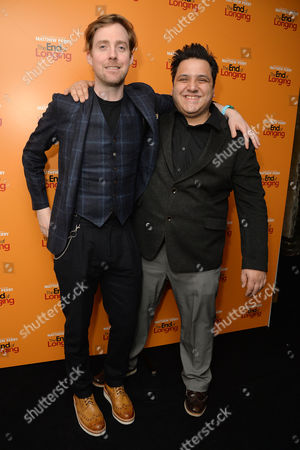 'The End of Longing' Press Night Afterparty at the Playhouse Theatre Ricky Wilson and Nathan Amzi
