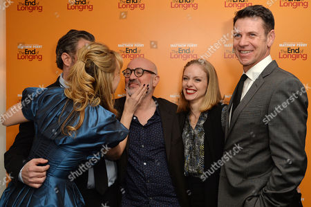 'The End of Longing' Press Night Afterparty at the Playhouse Theatre Jennifer Mudge Matthew Perry Director Lindsay Posner Christina Cole and Lloyd Owen