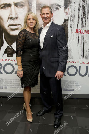 'The Frozen Ground' Premiere at the Vue Westend Robert Forgit with His Wife