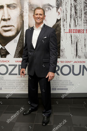 Stock Image of 'The Frozen Ground' Premiere at the Vue Westend Robert Forgit
