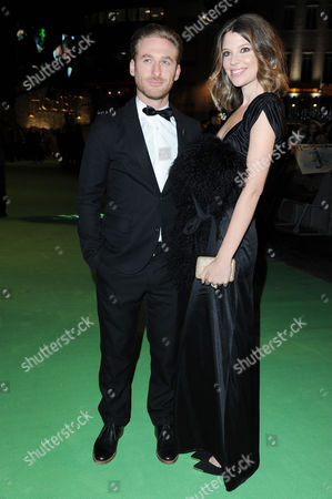 Stock Image of 'The Hobbit an Unexpected Journey' Premiere at the Odeon Leicester Square Dean O'gorman with His Partner