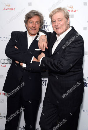 'The Importance of Being Earnest' Press Night Afterparty at L'escargot Greek Street Nigel Havers and Martin Jarvis