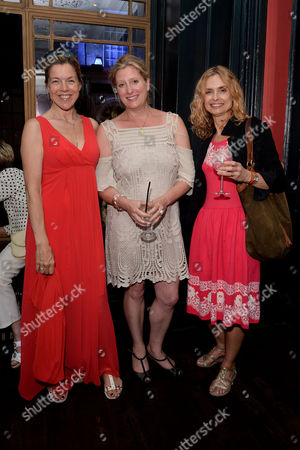 'The Importance of Being Earnest' Press Night Afterparty at L'escargot Greek Street Janie Dee Susannah Harker and Maryam D'abo