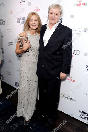 'The Importance of Being Earnest' Press Night Afterparty at L'escargot Greek Street Rosalind Ayres and Martin Jarvis