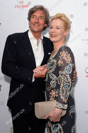'The Importance of Being Earnest' Press Night Afterparty at L'escargot Greek Street Nigel Havers and Christine Kavanagh